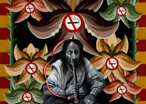 No Smoking 36 x 36